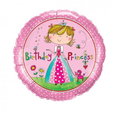 "Folienballon ""Birthday Princess"" 